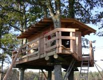 Nouveau : construction de cabanes !